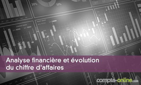 Analyse financière et évolution du chiffre d'affaires