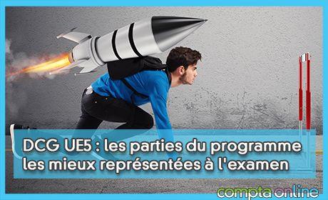 DCG UE5 : les parties du programme les mieux représentées à l'examen