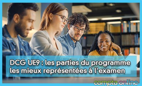 DCG UE9 : les parties du programme les mieux représentées à l'examen