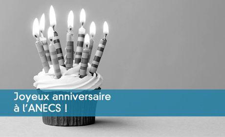 Joyeux anniversaire à l'ANECS
