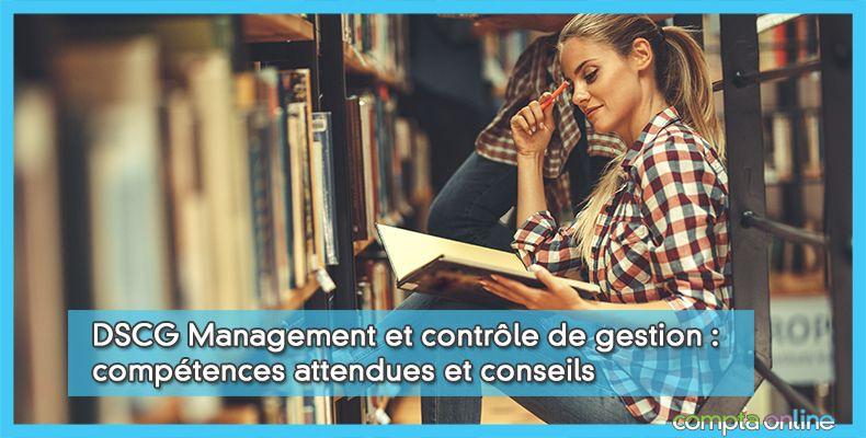 Annales DSCG UE3 Management et contrôle de gestion