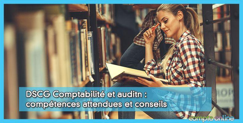 Annales DSCG UE4 Comptabilité et audit