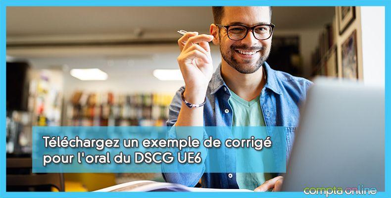 Annales DSCG UE6 Anglais des affaires
