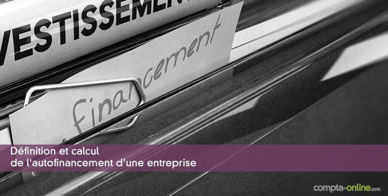 Calcul Financement Auto >> Qu Est Ce Que L Autofinancement