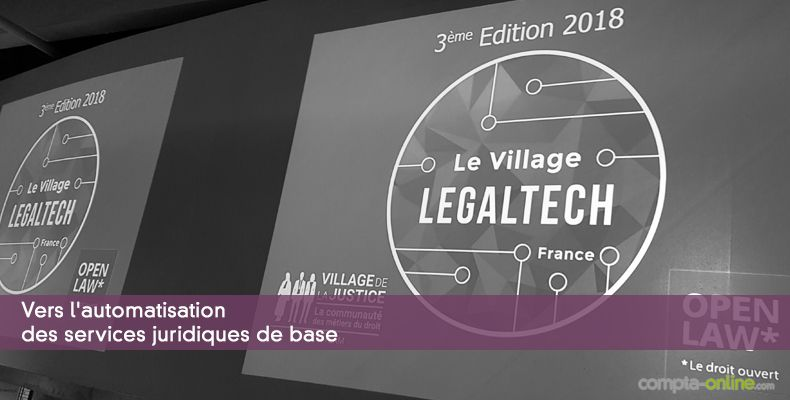 Vers l'automatisation des services juridiques de base