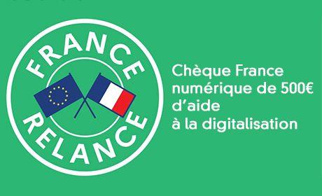 Profiter du chèque France Num de 500¤ pour dématérialiser les échanges avec vos clients