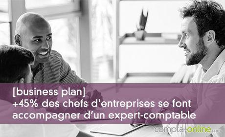 [business plan] +45% des chefs d'entreprises se font accompagner d'un expert-comptable