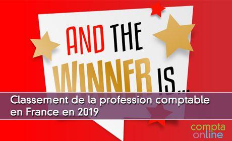 Classement de la profession comptable en France en 2019