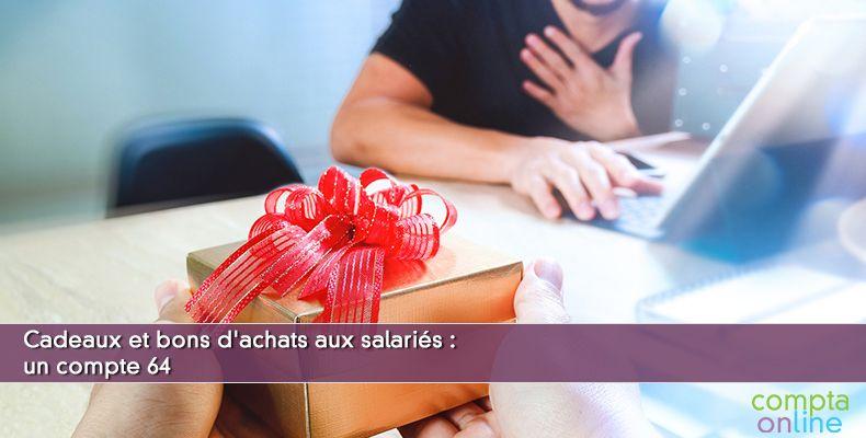 Comptabilisation cadeau salarié