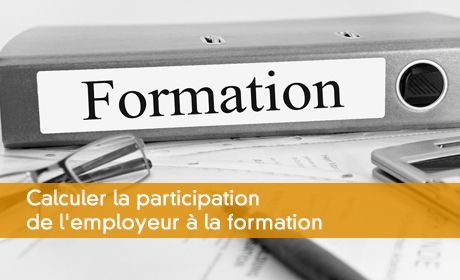 Calcul formation professionnelle