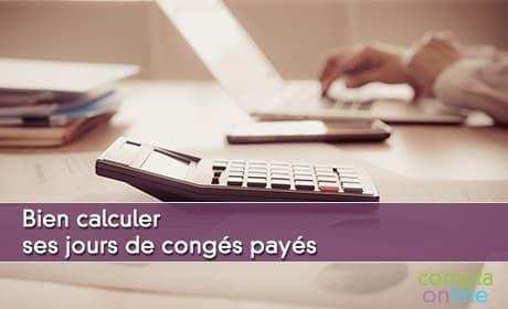 Calcul des congés payés