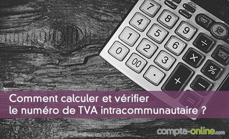 Calcul du numéro de TVA intracommunautaire