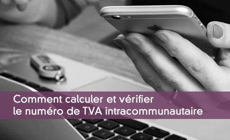 Calcul du numéro de TVA