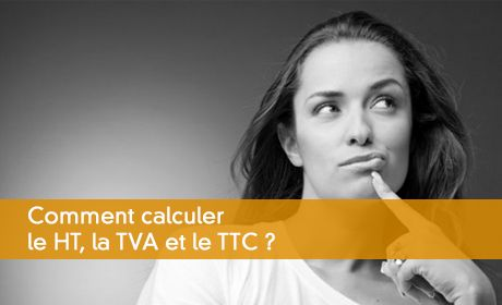 Calcul du HT, TVA, TTC