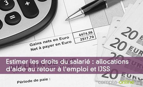 Calculer son salaire journalier sans se tromper : ARE et IJSS