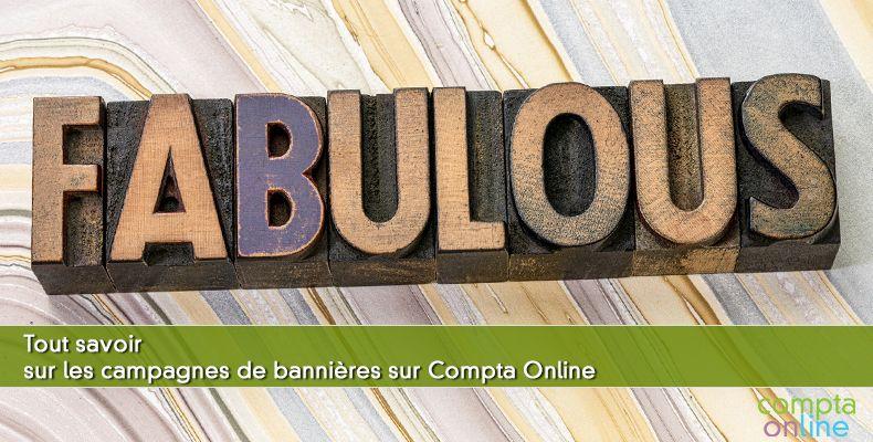 Tout savoir sur les campagnes de bannières sur Compta Online