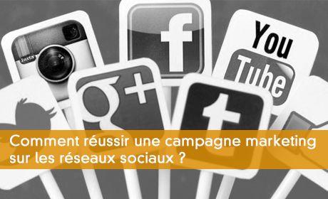Campagne marketing sur les réseaux sociaux