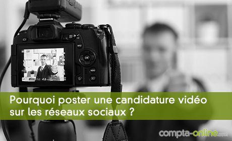 Pourquoi poster une candidature sur les réseaux sociaux ?