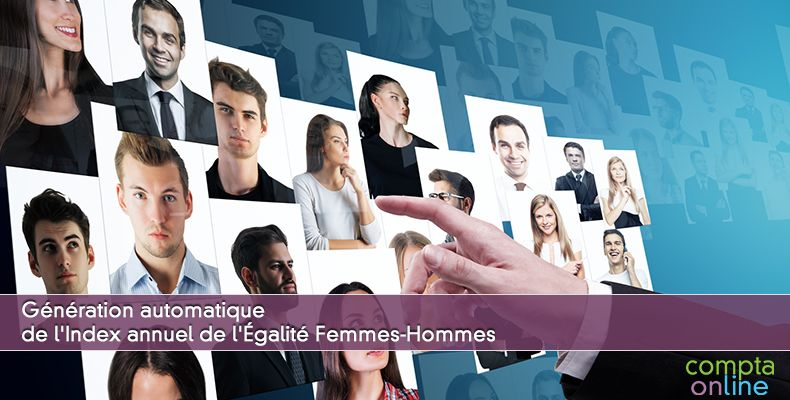 Génération automatique de l'Index annuel de l'Égalité Femmes-Hommes