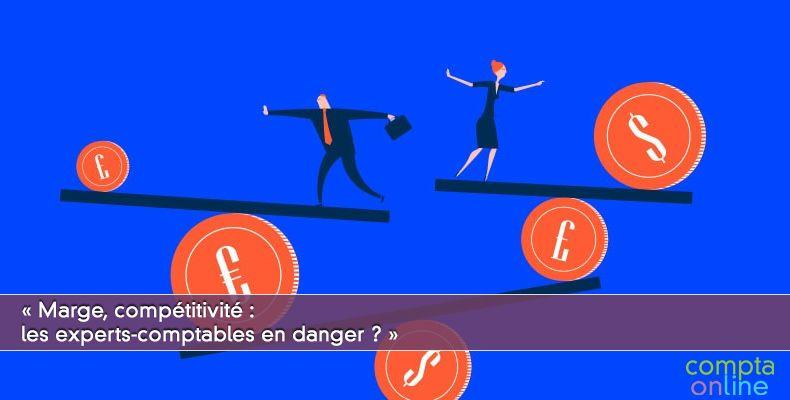 « Marge, compétitivité : les experts-comptables en danger ? »