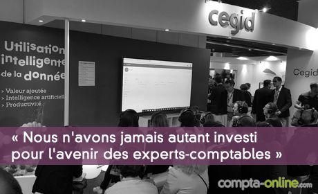 François Méro « Nous n'avons jamais autant investi pour l'avenir des experts-comptables »