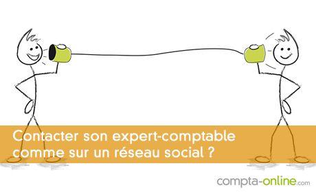 Contacter son expert-comptable comme sur un réseau social ?