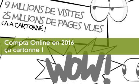 Compta Online en 2016, ça cartonne !