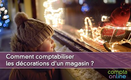 Comptabiliser les décorations d'un magasin