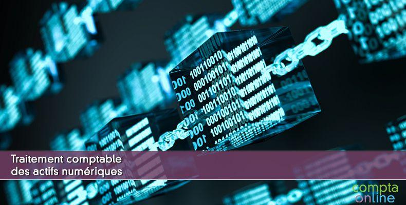 Traitement comptable des actifs numériques