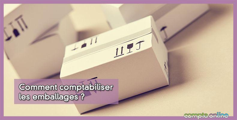 Comptabilisation emballages