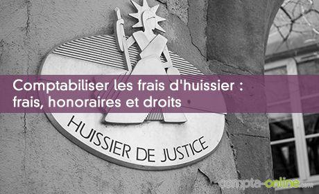 Comptabiliser Les Sommes Rgles Un Huissier De Justice