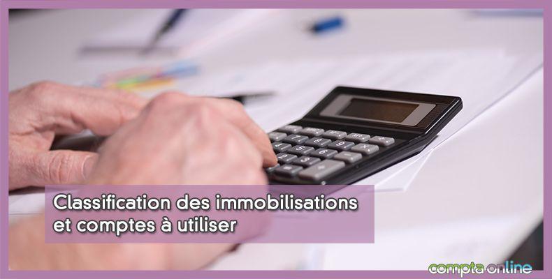Comptabilisation immobilisation