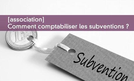 Comptabiliser les subventions