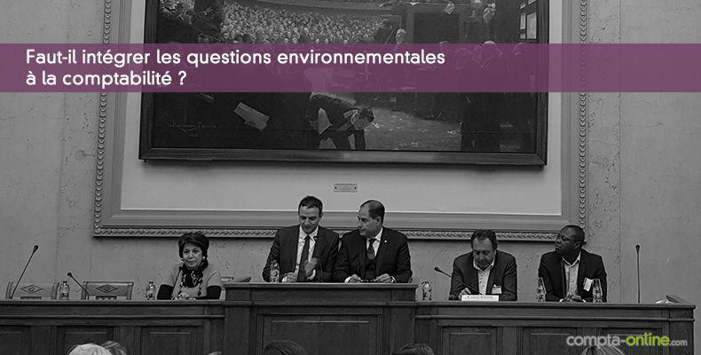 Faut-il intégrer les questions environnementales à la comptabilité ?