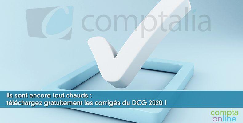 Corrigés DCG 2020