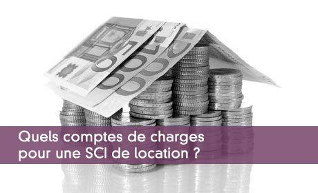 Quels comptes de charges pour une SCI de location ?