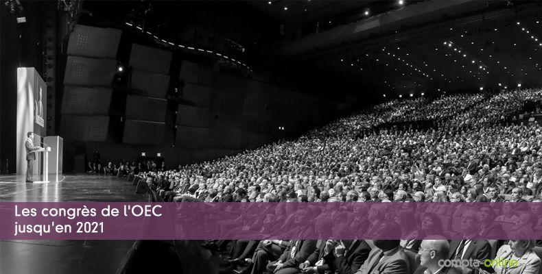 Les congrès de l'OEC jusqu'en 2021