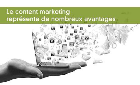 Les avantages du content marketing