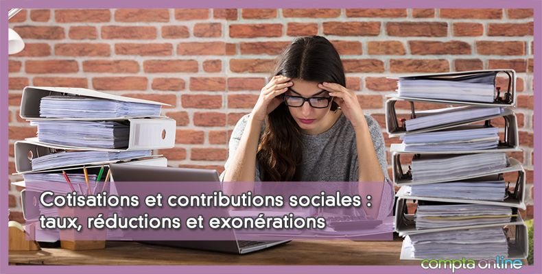 Cotisations sociales et charges patronales