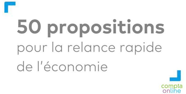 Résultat de la grande enquête du CSOEC concernant les mesures de relance de l'économie