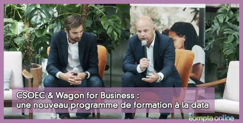 CSOEC & Wagon for Business : une nouveau programme de formation à la data