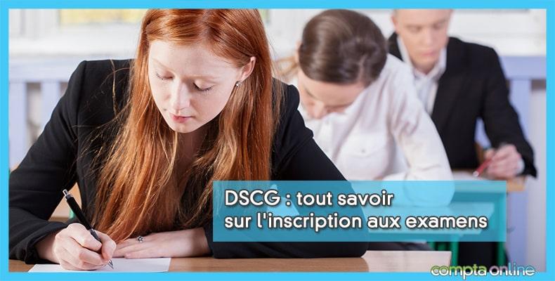 Inscription DSCG 2020