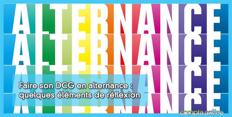 DCG en alternance