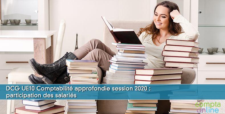 Corrigé DCG 2020 UE10 : participation des salariés