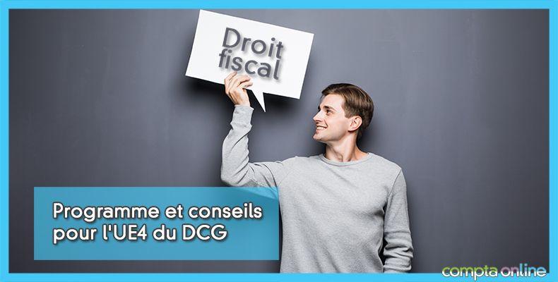 DCG Droit fiscal