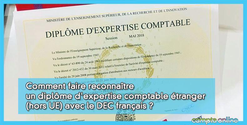Reconnaissance DEC français