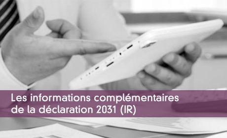 Déclaration 2031