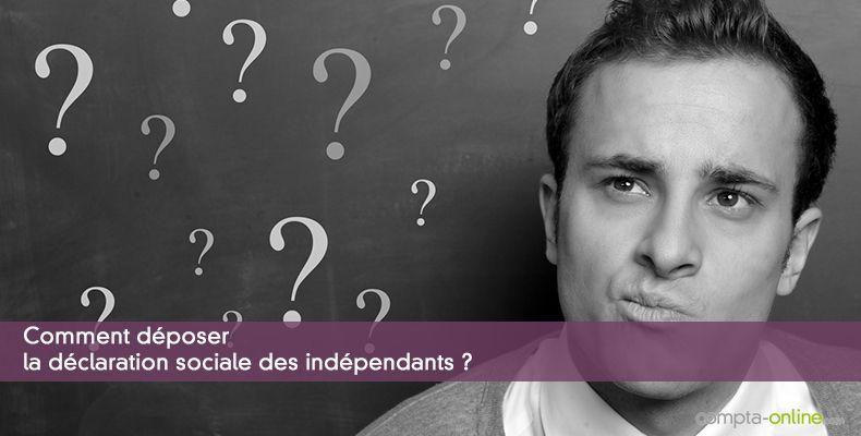 Déclaration sociale des indépendants