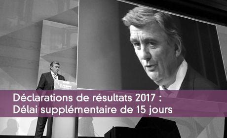 Liasse fiscale : un délai supplémentaire de 15 jours en 2017