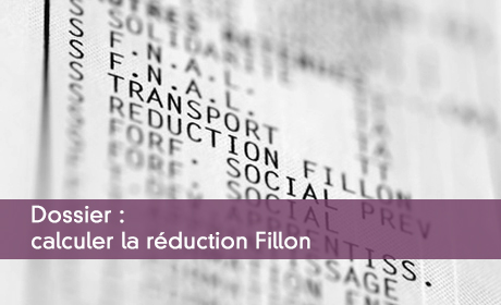 Dossier : Calculer la réduction Fillon